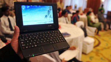 A netbook, the computing fad that made no sense