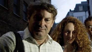 Saga continues … Charlie Brooks denied the bag in question belonged to his wife, Rebekah.