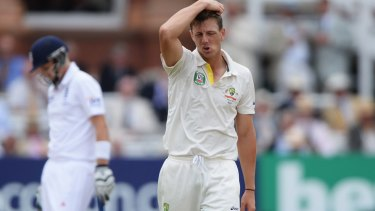 Body count: James Pattinson.