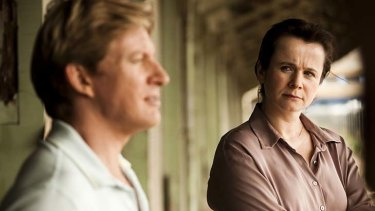 Into the past: Len (David Wenham, left) and Margaret (Emily Watson) journey into a dark chapter of recent British history in the moving drama Oranges and Sunshine.