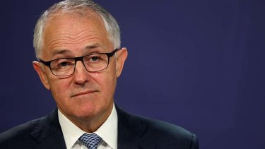 """Malcolm Turnbull: """"I will not stand by and let that falsehood be peddled""""."""