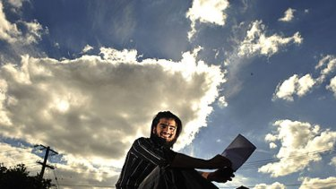 Afghan refugee Shaheen Hasmat, dux of Reservoir District Secondary College, ended the year with a score of 99.8.