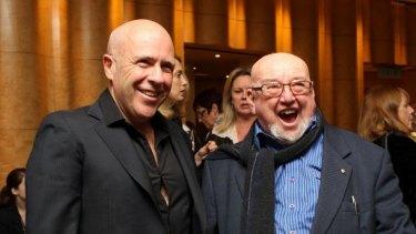 Richard Flanagan and former Mann Booker Prize winner Thomas Keneally.