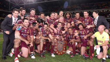 Retiring on top ... Maroons prop Petero Civoniceva.