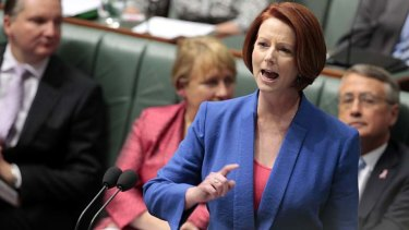 """For the first time in Australian political history, a senior woman from a major political party stood in our Federal Parliament and attacked her opponent on the grounds of sexism in a long, blistering speech."""