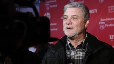 Former church member Mike Rinder attends the premiere of Going Clear: Scientology and the Prison of Belief at the Sundance Film Festival in Park City, Utah.