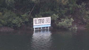 Warragamba Dam on verge of spilling