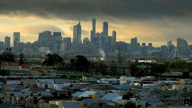 Melbourne's real estate market set the pace for Australian capital cities.