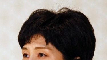 Former North Korean spy Kim Hyon-hui in 2009.