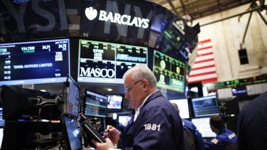 On Wall Street, the S&P and Dow Jones Industrial Average had their worst days since October 9, wiping out the year's gains.
