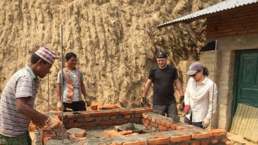 REACH for Nepal hires local labourers to direct the projects.