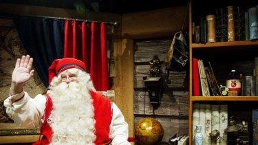 Bleak outlook … less stops for Santa this year.