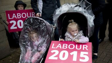 Labour supporters expected victory, but results in Scotland dealt their hopes a blow.