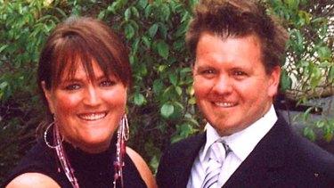 Nathan Alsop and his wife, Tara.