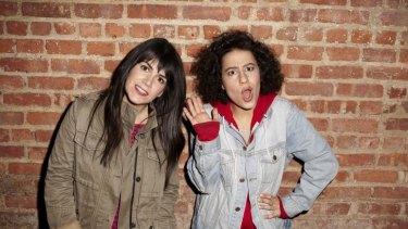 Smart: Abbi Jacobson and Ilana Glazer are back for <i>Broad City</i>.