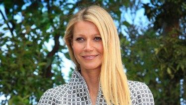 Gwyneth Paltrow: announced her engagement.