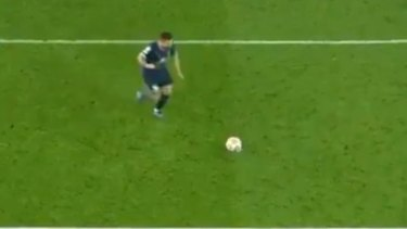 PSG superstar Lionel Messi is all class from the penalty spot.