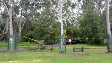 The modest memorial - too modest, many believe - to Euroa's VC heroes.