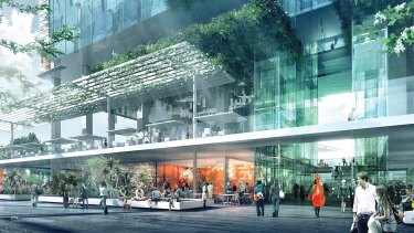 Twin towers featuring 'public space in the sky' win Parramatta Square design competition.