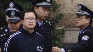 Australian Matthew Ng, convicted by the system Wang Yang governs.