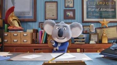 Buster Moon, the musical theatre impresario koala of