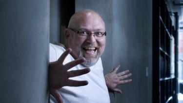 Writer-actor-comedian Adam Richard loves his job.