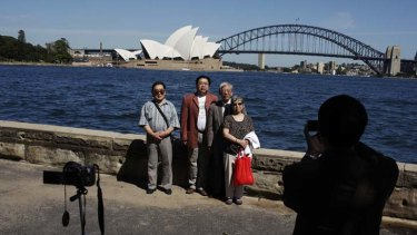 """The usual traps ... Sydney-siders need to be more concerned with offering the influx of Chinese tourists a more """"authentic"""" Sydney."""