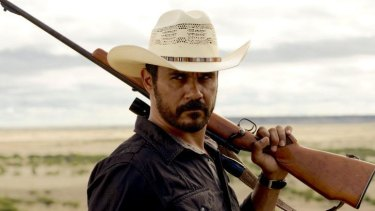 Coming back ... Aaron Pederson in <i>Mystery Road</i>.