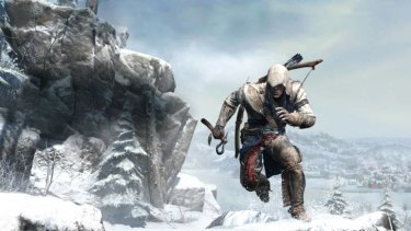 Connor is a new kind of assassin in a whole new landscape, in Assassin's Creed III