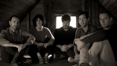 With songwriter and frontman James Mercer (far left) at the helm, indie band the Shins have found mainstream success.