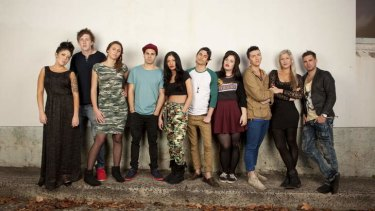 The cast of <i>Young, Lazy & Driving Us Crazy</i>.