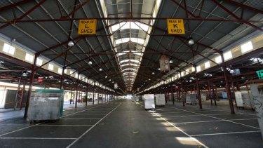 Queen Victoria Market's interior.