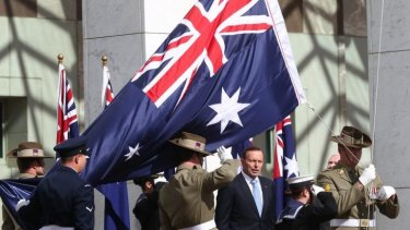"""Prime Minister Tony Abbott: """"This is a hideous movement that not only does evil, it revels in evil."""""""
