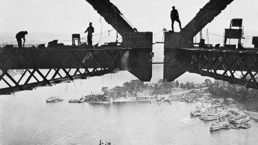 Henri Mallard: Building the Sydney Harbour Bridge.