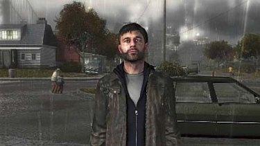 Heavy Rain's grieving father Ethan Mars.