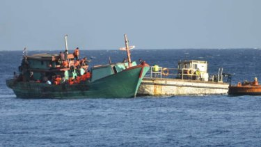 The Coalition wants to work with Indonesian police to buy unsafe fishing boats.