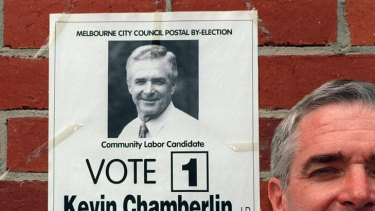 Former Melbourne lord mayor Kevin Chamberlin says the current council is making too many decisions behind closed doors.