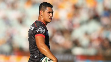 Big loss: The Warriors will struggle without Roger Tuivasa-Sheck.