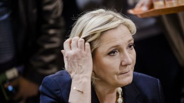 Polls suggest Emmanuel Macron and the far-right's Marine Le Pen will make it through to the second round of voting.