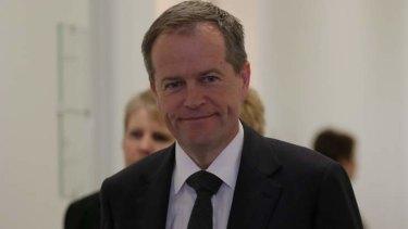 Labor leadership nominee Bill Shorten