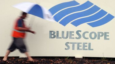 BlueScope Steel said it would pay a final, fully franked dividend of 3c on October 19 as it returned to a full-year statutory profit.