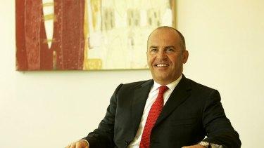 Lynas executive chairman Nicholas Curtis.