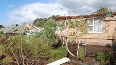Bunbury Hit By Mini Tornado