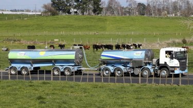 New Zealand's milk run now extends right across Asia.