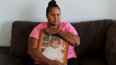 Still seeking answers: Evelyn's aunt, Michelle Jarrett.