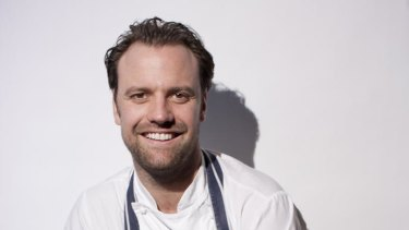 Proud of staff ... Australian chef Brett Graham.