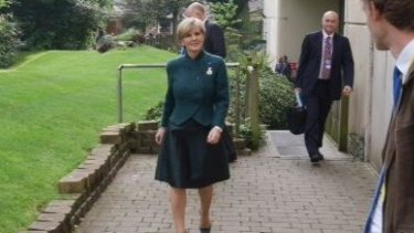 Coalition of nations to face Islamic State: Julie Bishop at the NATO summit in Newport, Wales.