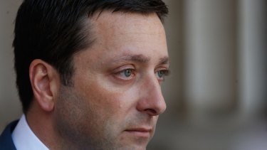 Matthew Guy is wrong on crime.