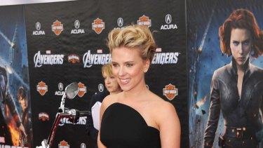 Rabbit food diet ... Avengers star Scarlett Johansson.
