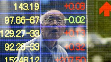 Japan's Nikkei has plunged 14 per cent in 2014.